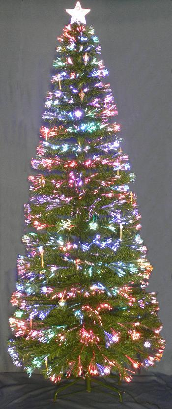 Fiber Optic Christmas Tree Optic Angel Santa And Lamp